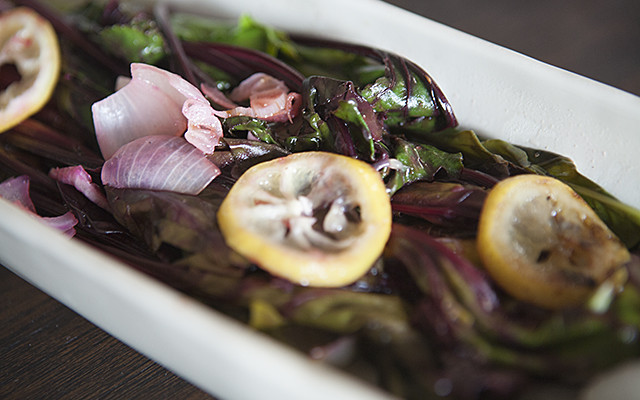 a love affair with beet greens