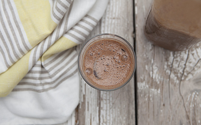 Spicy Raw Chocolate Milk