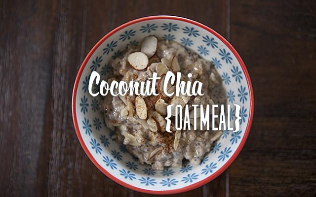 Coconut Chia Oatmeal