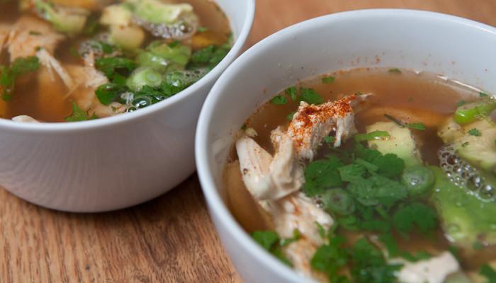 Mexican Breakfast Soup
