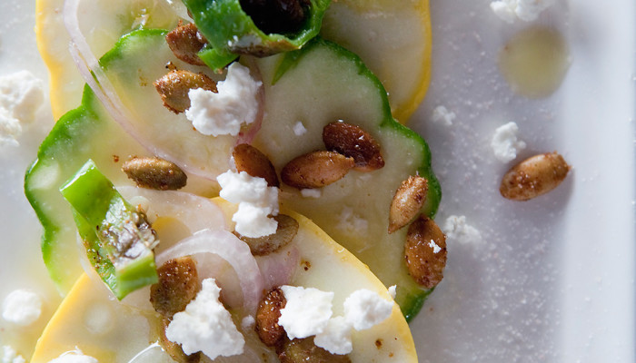 Summer Squash Carpaccio