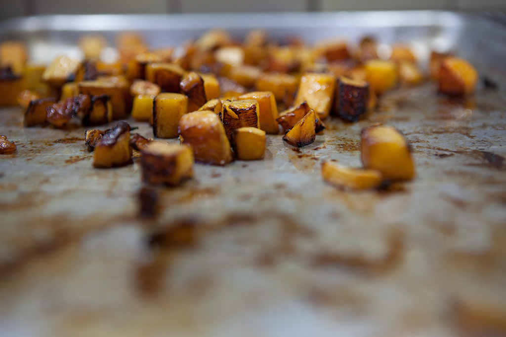Balsamic Butternut Squash & Lentils